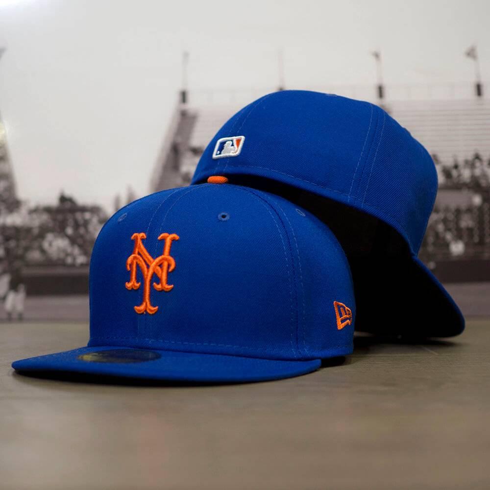 59FIFTY MLB AUTHENTIC NEW YORK METS TEAM FITTED CAP