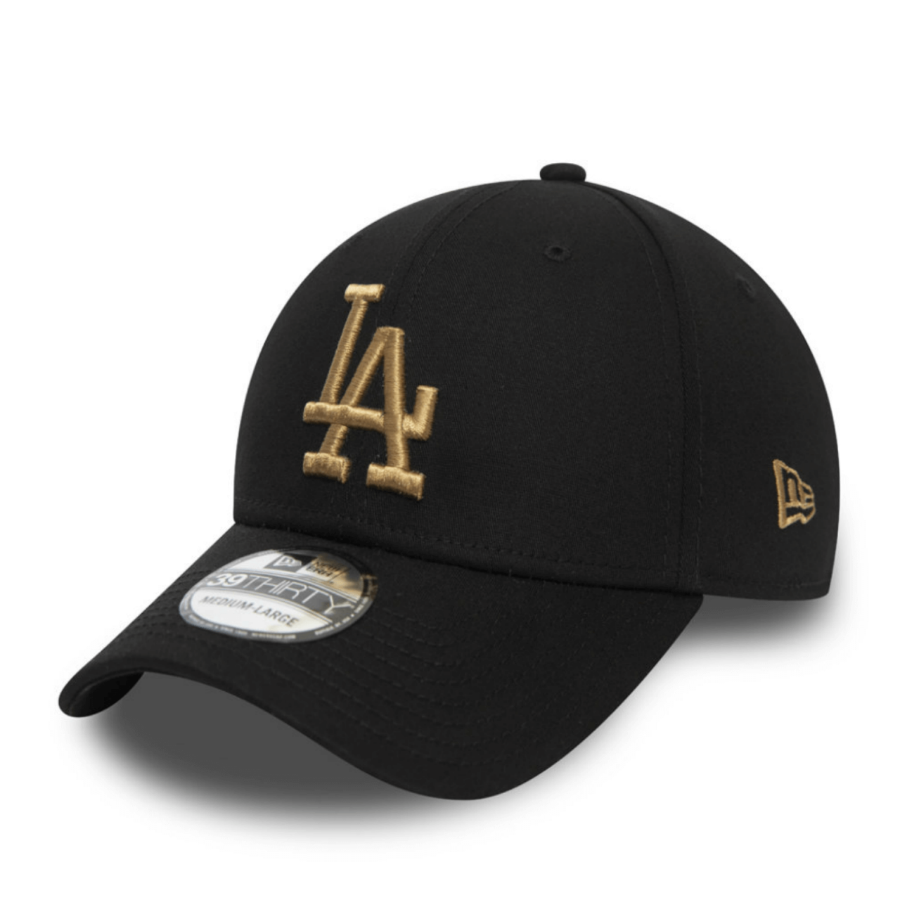 39THIRTY LEAGUE ESSENTIAL LOS ANGELES DODGERS BLACK CAP
