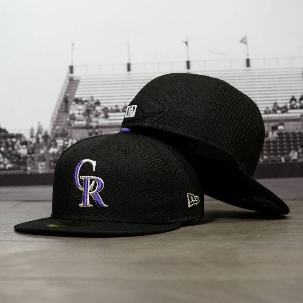 59FIFTY MLB AUTHENTIC COLORADO ROCKIES TEAM FITTED CAP