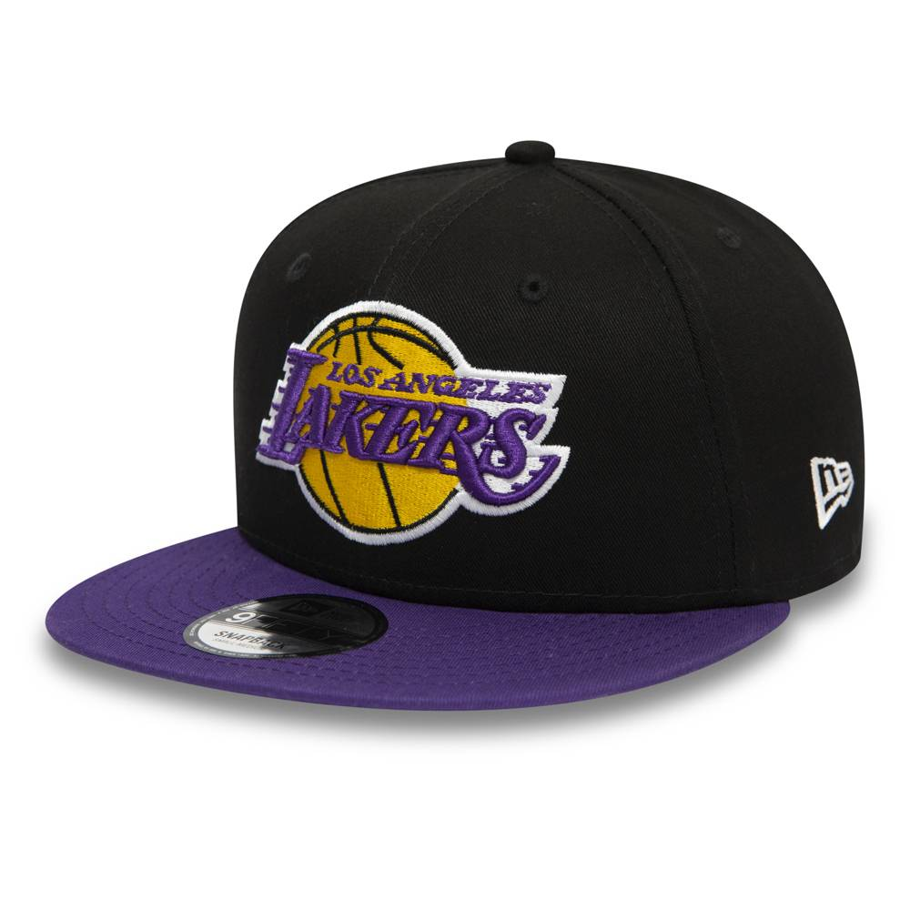 12122724 9FIFTY NBA LOS ANGELES LAKERS BLACK/PURPLE SNAPBACK