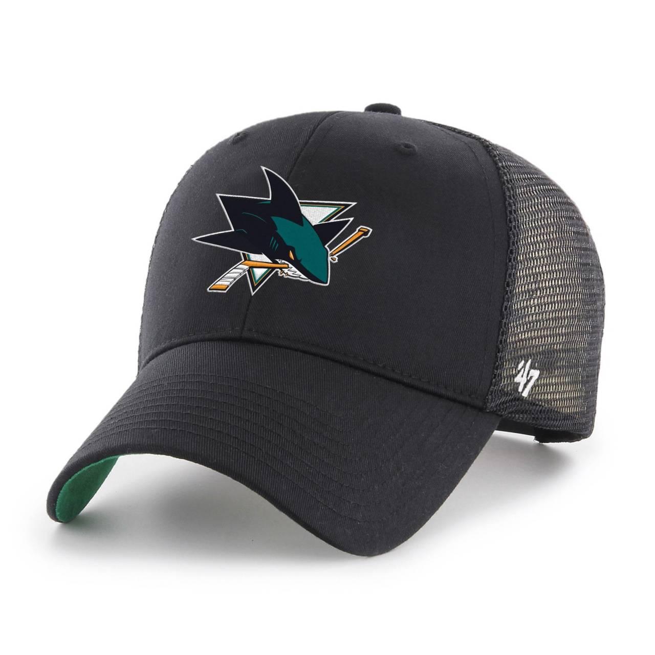 NHL SAN JOSE SHARKS BRANSON '47 MVP BLACK CAP