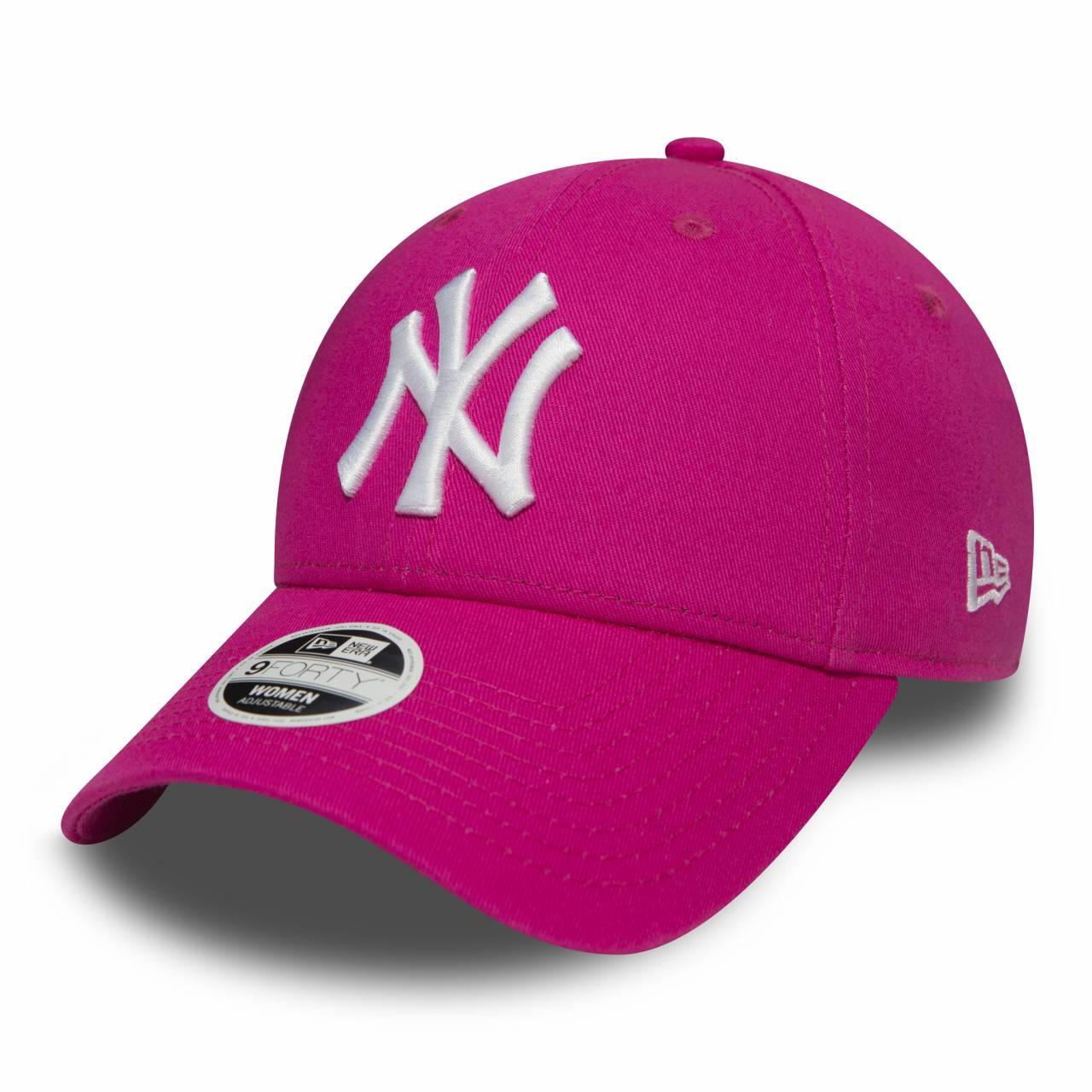 11157578 9FORTY WOMAN NEW YORK YANKEES PINK CAP