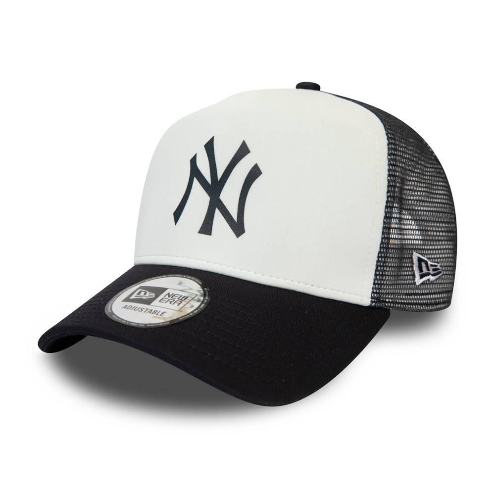 12380796 MLB TRUCKER NEW YORK YANKEES WHITE/NAVY