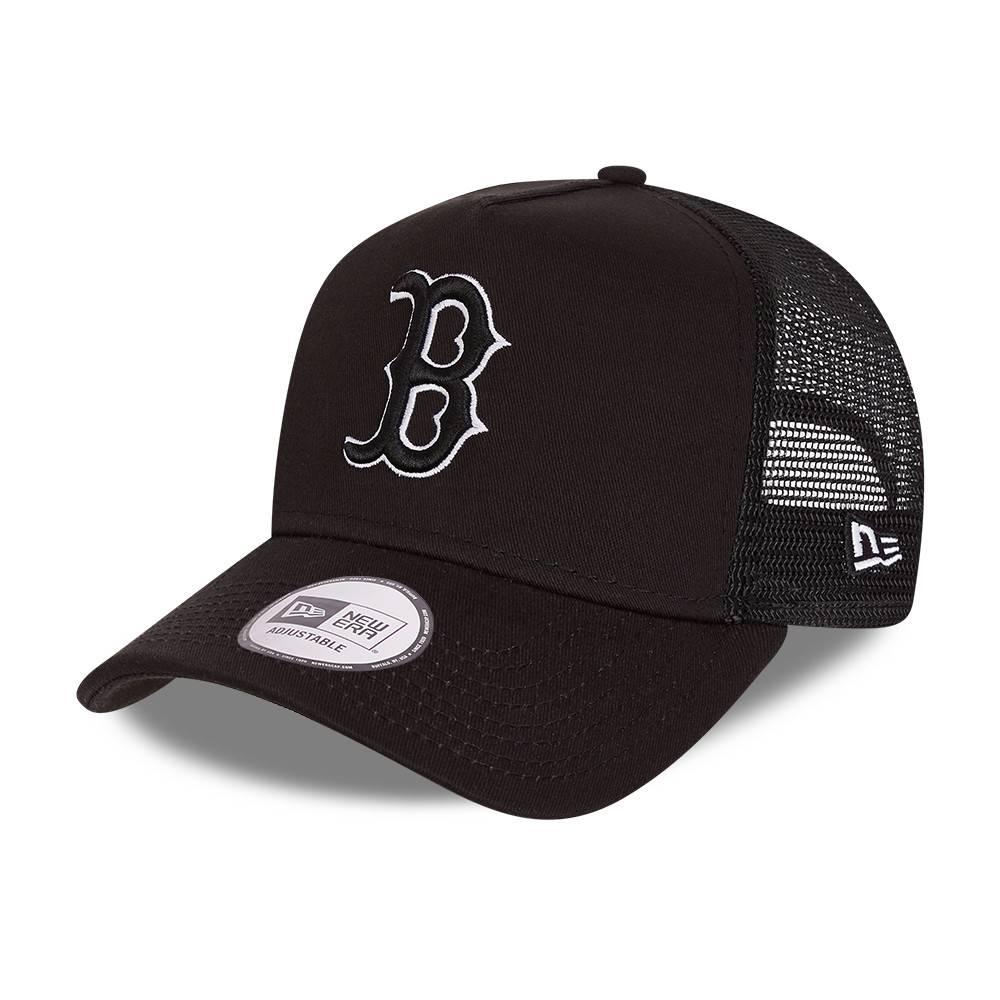 9FORTY A-FRAME MLB BOSTON RED SOX TONAL BLACK CAP