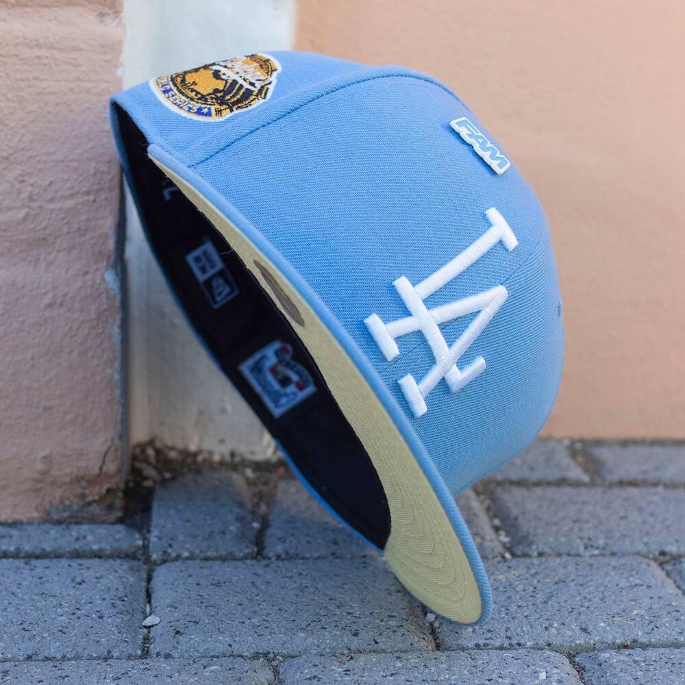 LIMITED 59FIFTY MLB LOS ANGELES DODGERS WS1963 HELLBLAU / GELB UNTERSCHIRM