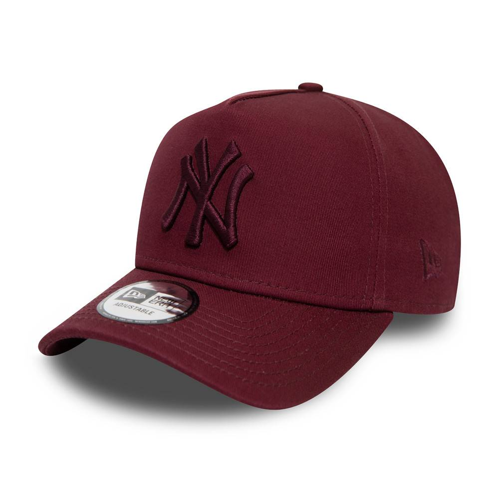 9FORTY A-FRAME MLB NEW YORK YANKEES COLOR ESSENTIAL MAROON CAP