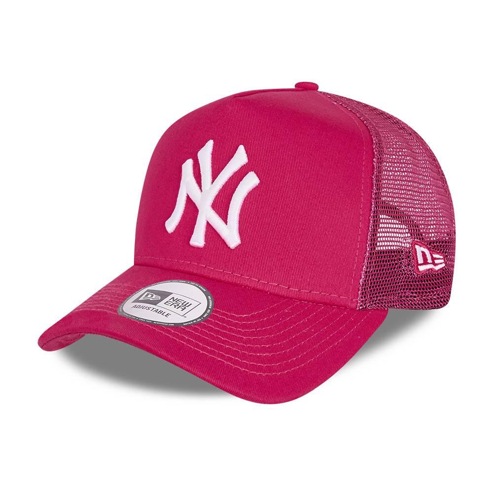 KIDS TRUCKER NEW YORK YANKEES PINK CAP