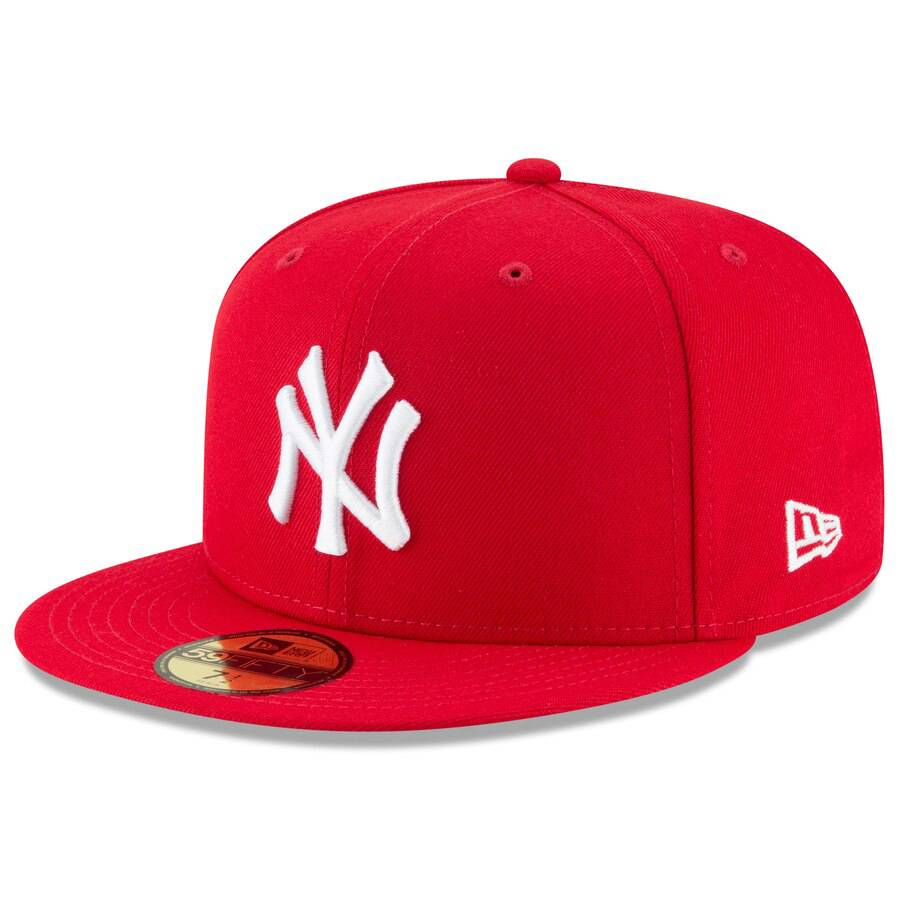 59FIFTY NY YANKEES FRED DURST EDITION RED CAP