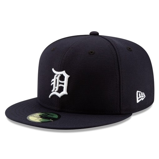 70505854 59FIFTY MLB AUTHENTIC DETROIT TIGERS TEAM FITTED CAP