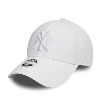 80524868 WOMAN 9FORTY NEW YORK YANKEES WHITE/WHITE CAP