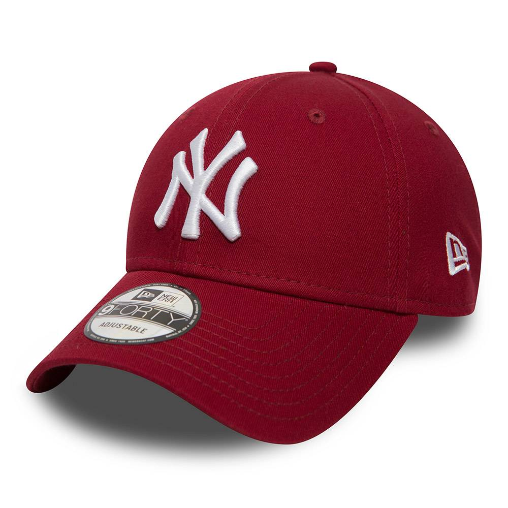 80636012 9FORTY MLB NEW YORK YANKEES CARDINAL RED CAP
