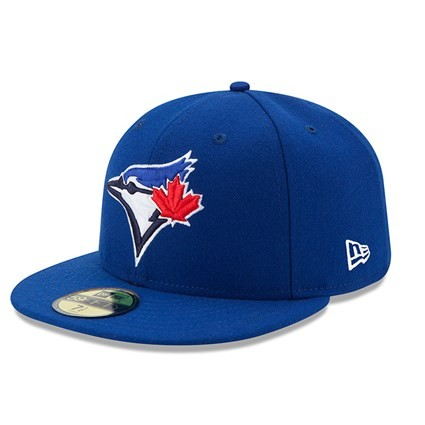 70331941 59FIFTY MLB AUTHENTIC TORONTO BLUE JAYS TEAM FITTED CAP