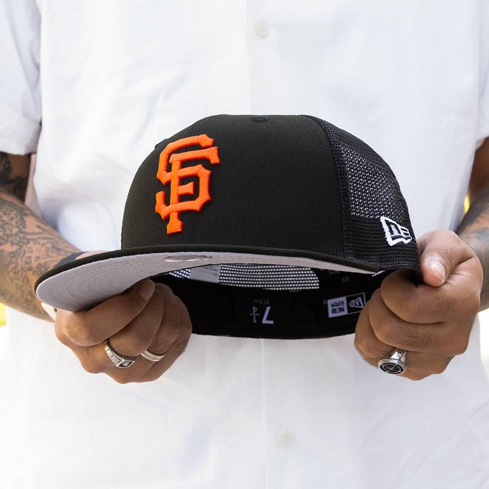 LIMITED 59FIFTY MLB SAN FRANCISCO GIANTS BLACK MESH /GRAU UNTERSCHIRM