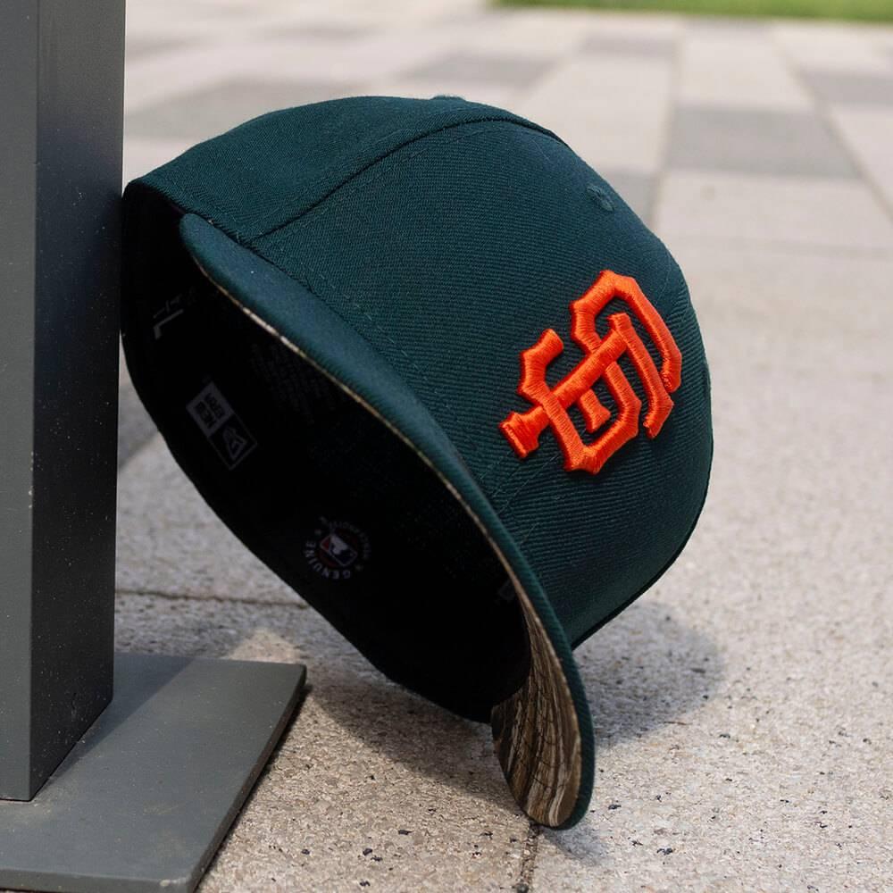 LIMITED 59FIFTY LOW PROFILE MLB SAN FRANCISCO GIANTS DARK GREEN/ REAL TREE CAMO UV