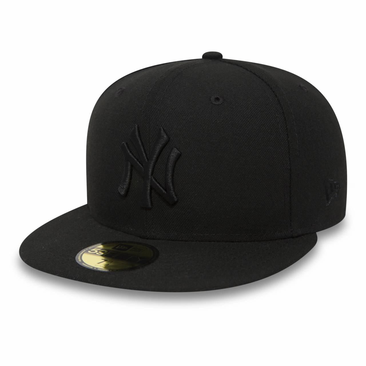 10000103 59FIFTY MLB NEW YORK YANKEES FITTED CAP BLACK\BLACK