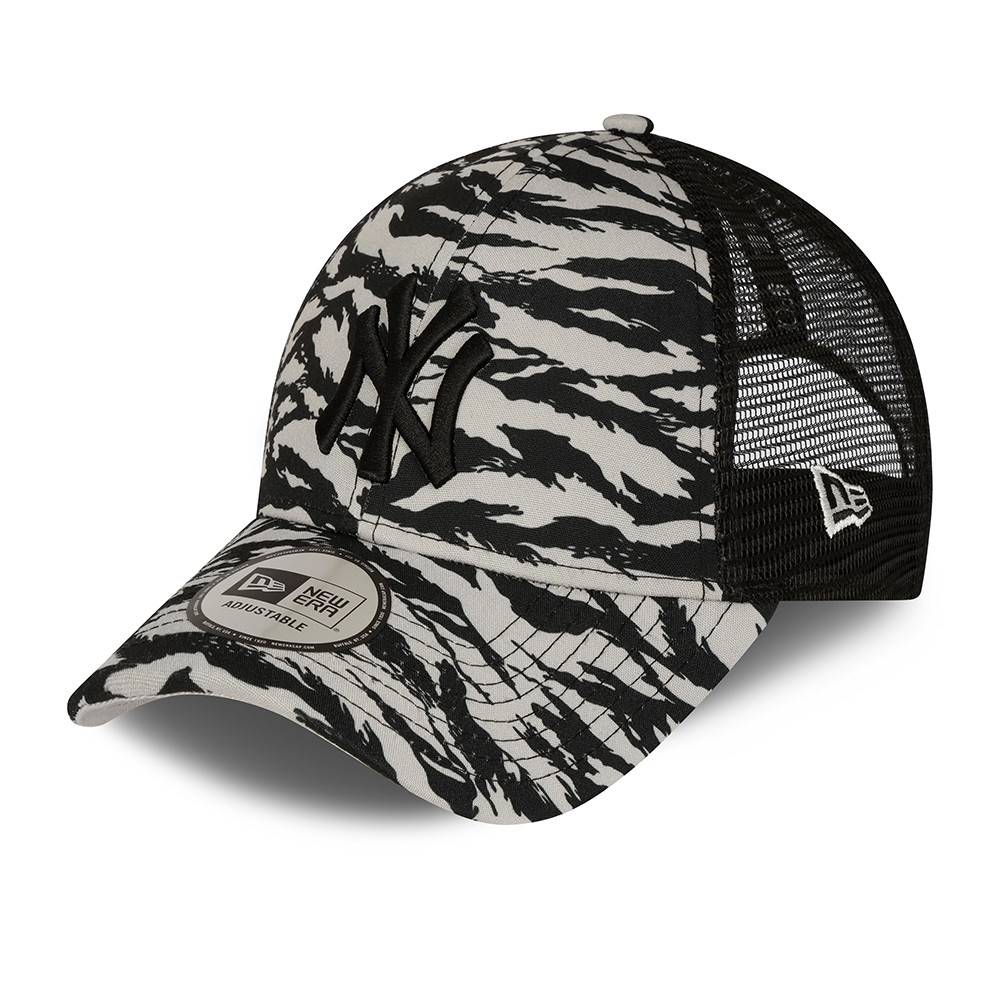 KIDS TRUCKER NEW YORK YANKEES GREY TIGER CAMO