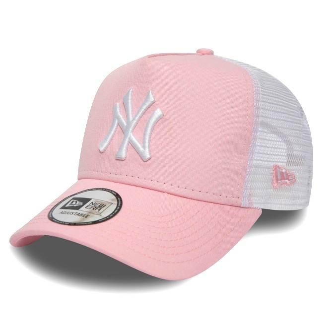 MLB TRUCKER NEW YORK YANKEES PINK CAP