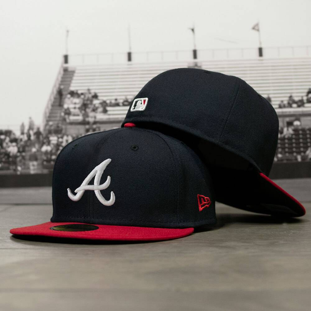 59FIFTY MLB AUTHENTIC ATLANTA BRAVES TEAM FITTED CAP