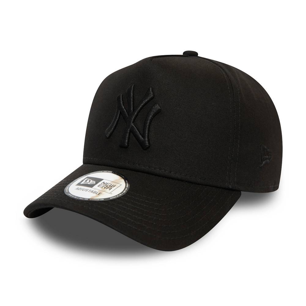 9FORTY A-FRAME MLB NEW YORK YANKEES COLOR ESSENTIAL BLACK CAP