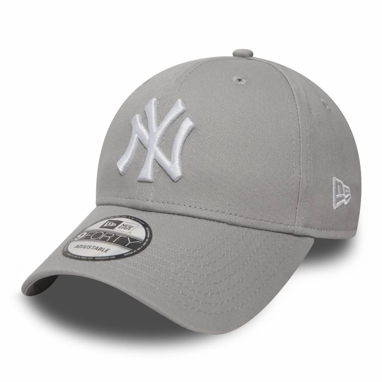 10531940 9FORTY NEW YORK YANKEES GRAY/WHITE CAP