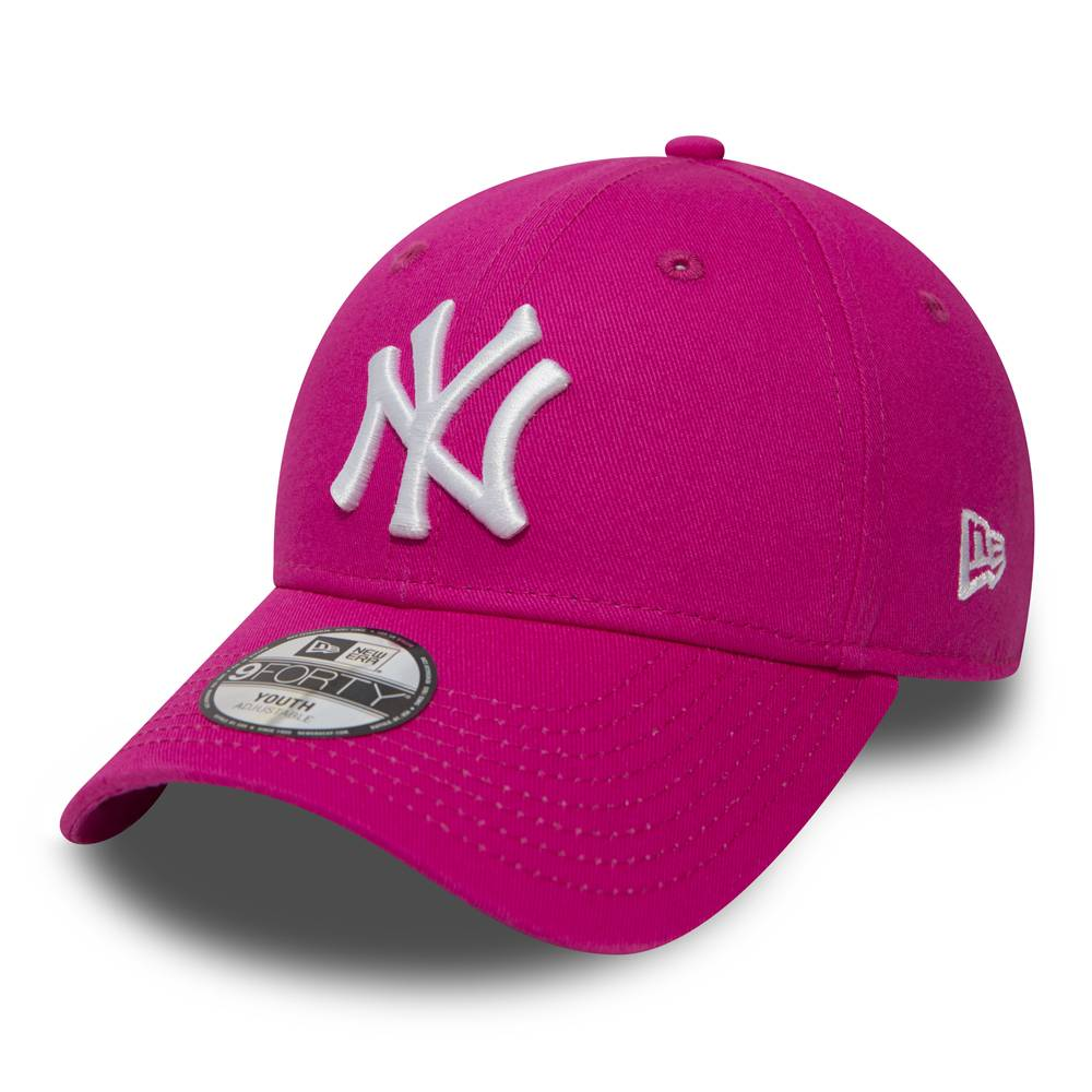 10877284 9FORTY KIDS NEW YORK YANKEES PINK/WHITE