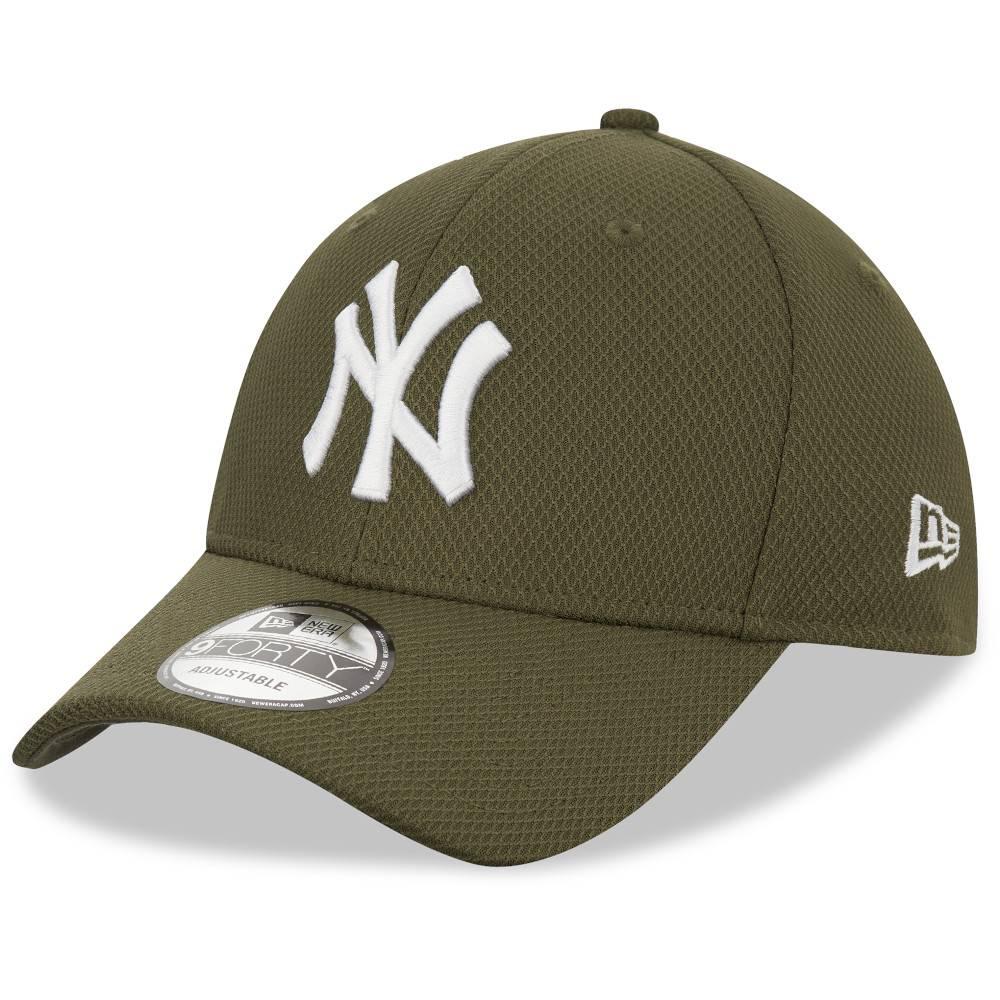 12523904 9FORTY DIAMOND ERA NEW YORK YANKEES OLIVE CAP