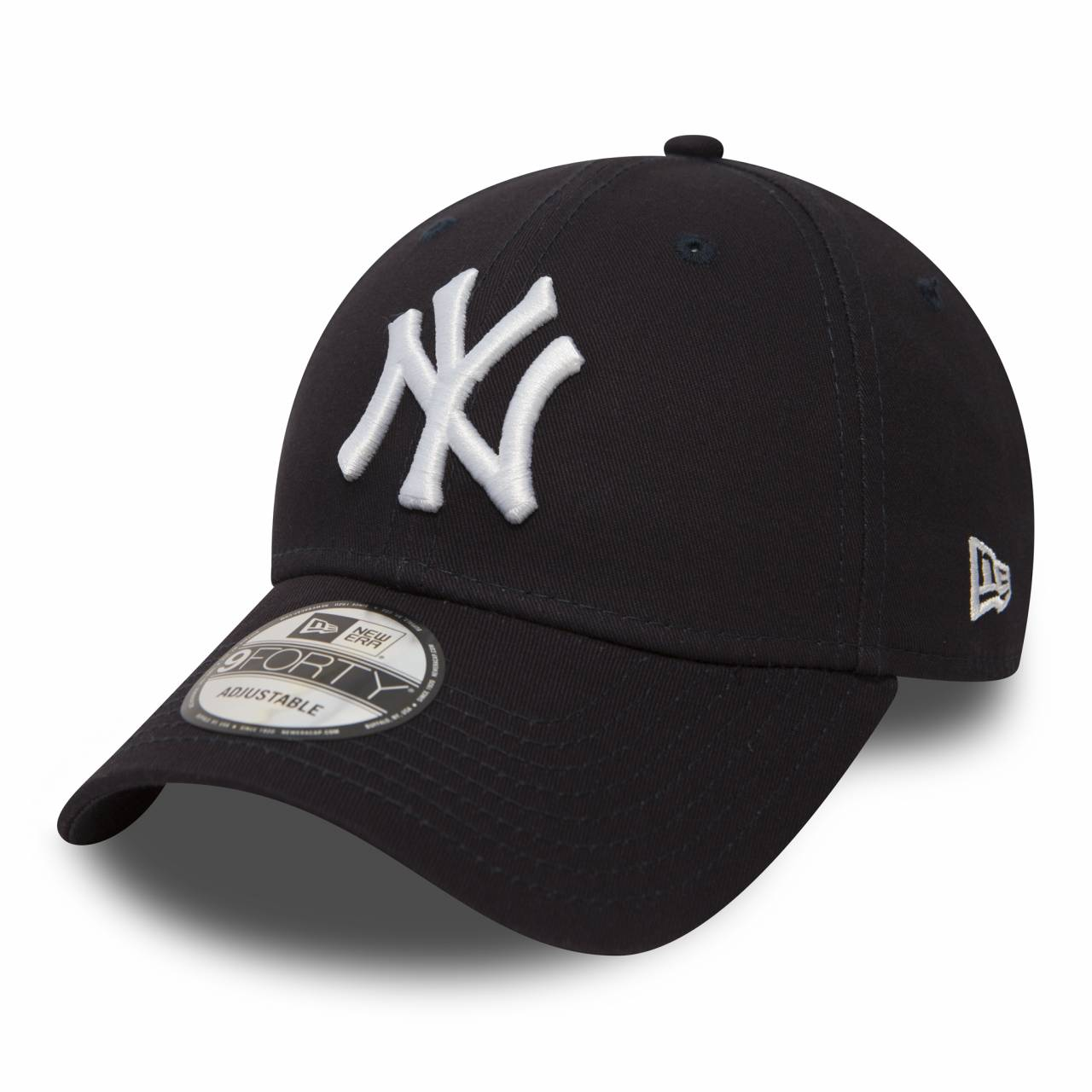 10531939 9FORTY NEW YORK YANKEES NAVY/WHITE CAP