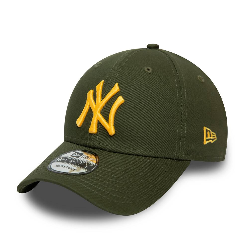 9FORTY NEW YORK YANKEES ESSENTIAL GREEN CAP
