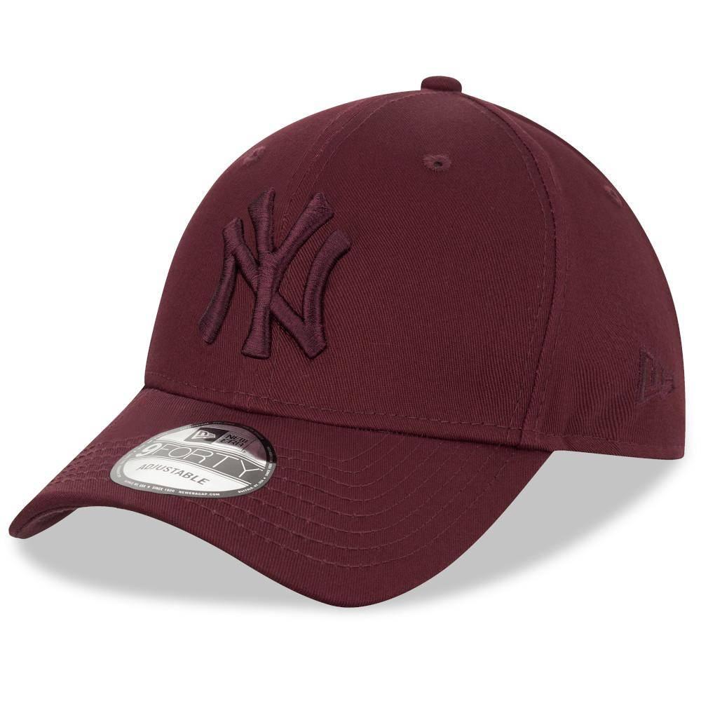 12523888 9FORTY MLB NEW YORK YANKEES MAROON SNAPBACK