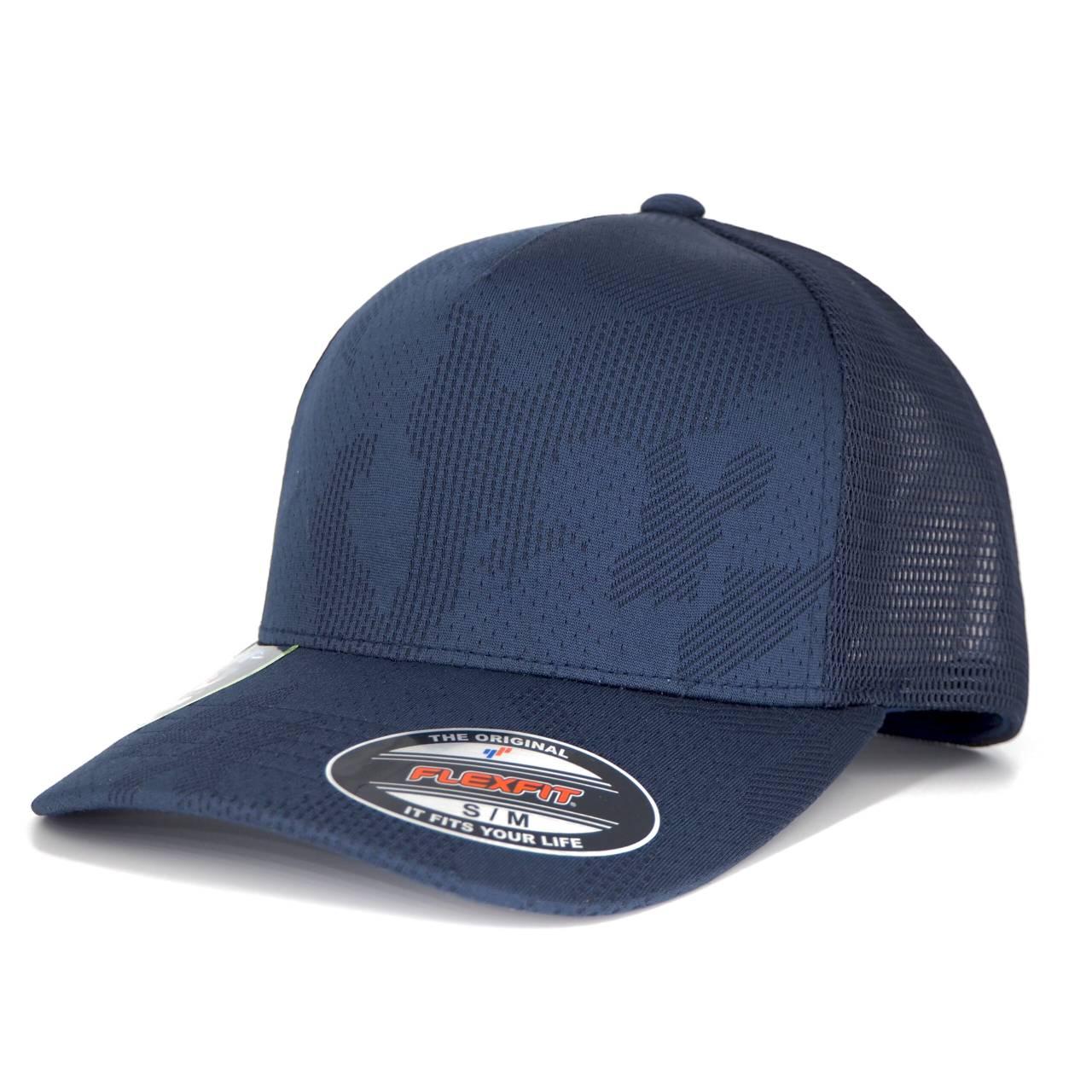 6277JC-00155-0044 FLEXFIT JAQUARD CAMO STRETCH CAMO CAP