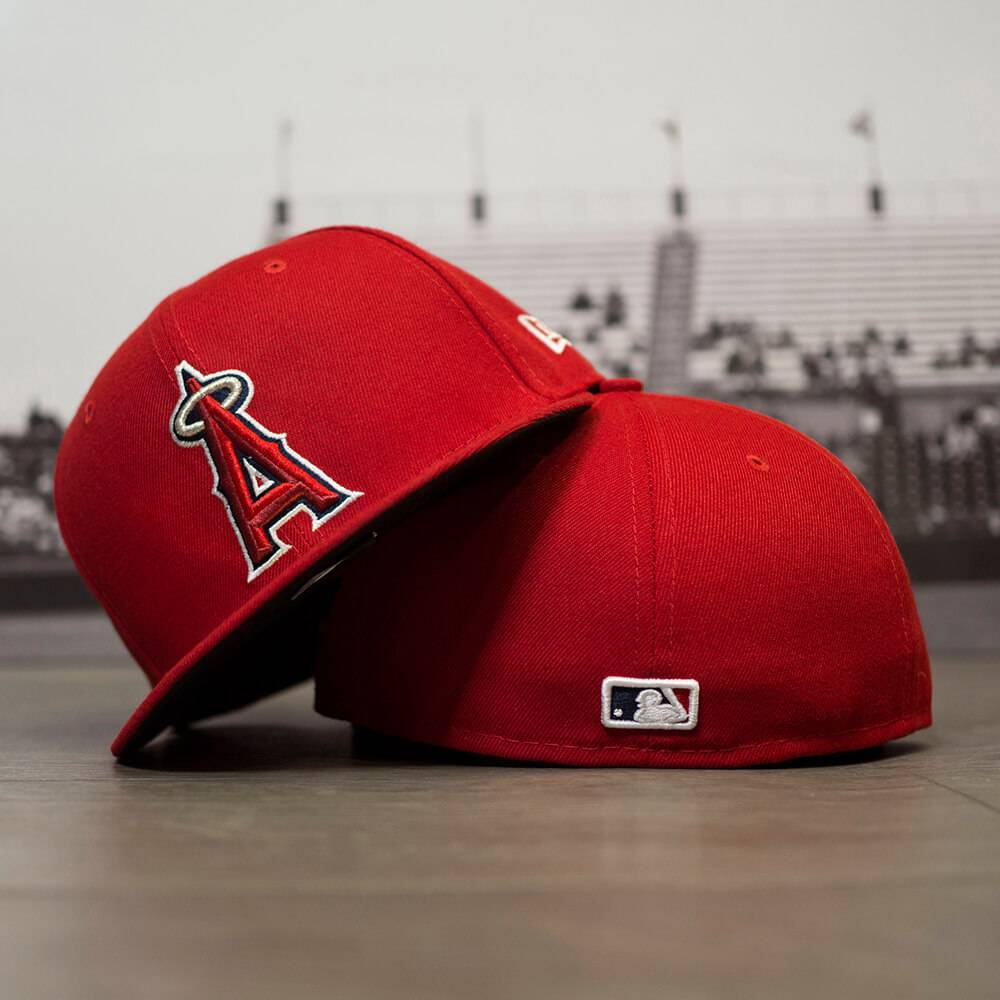 59FIFTY MLB AUTHENTIC LOS ANGELES ANGELS TEAM FITTED CAP