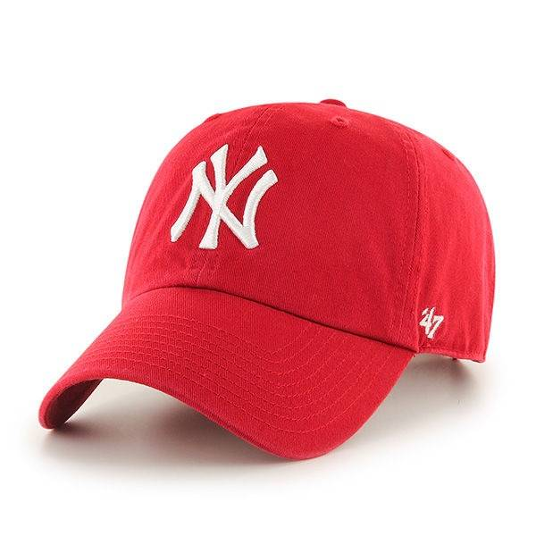MLB NEW YORK YANKEES '47 CLEAN UP RED