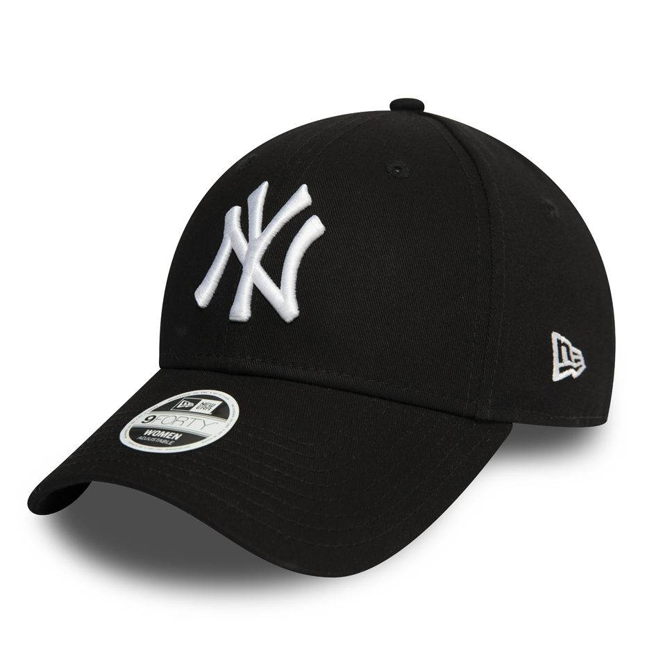 12122741 WOMAN 9FORTY NEW YORK YANKEES BLACK/WHITE CAP
