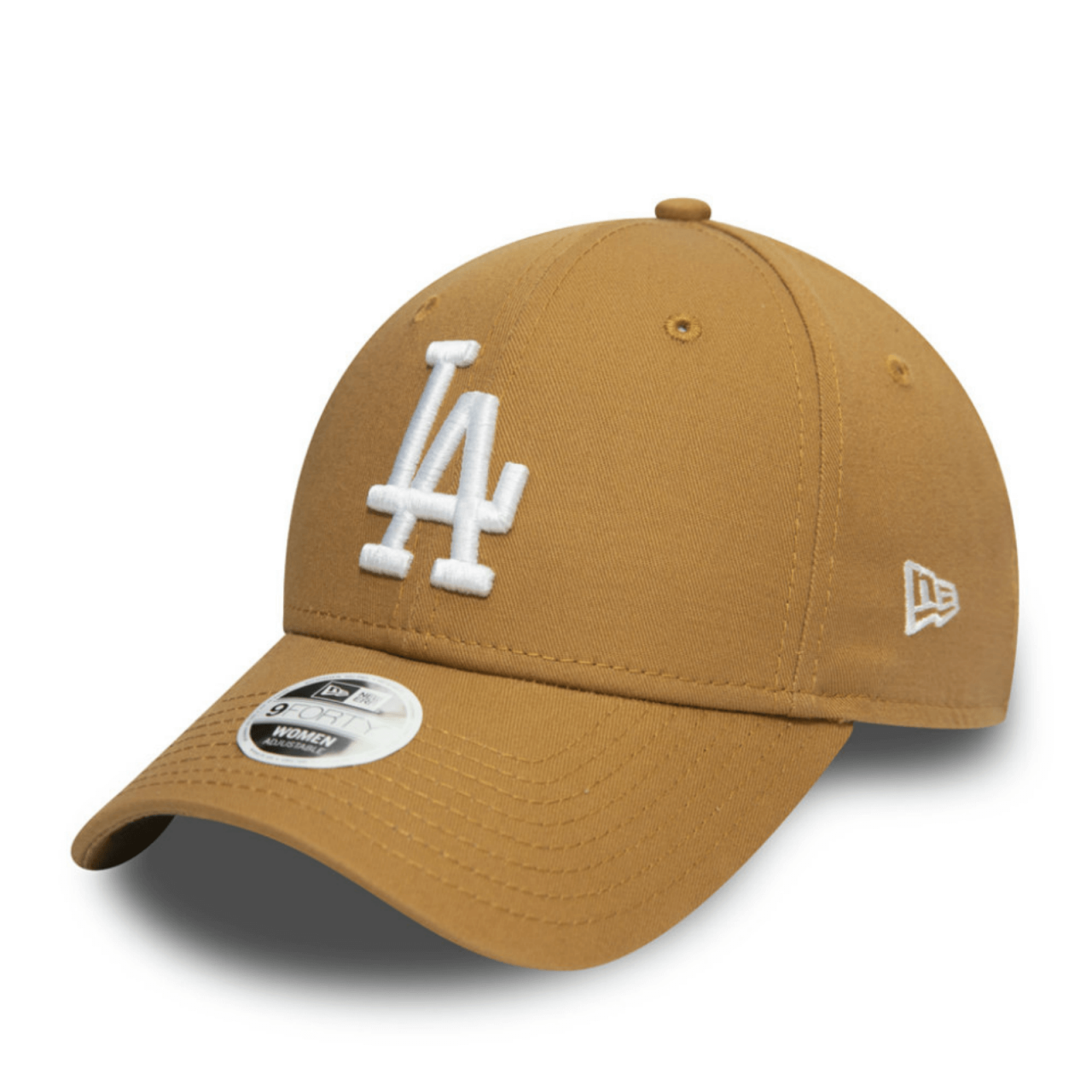 9FORTY WOMEN MLB LOS ANGELES DODGERS COLOR ESSENTIAL WHEAT CAP