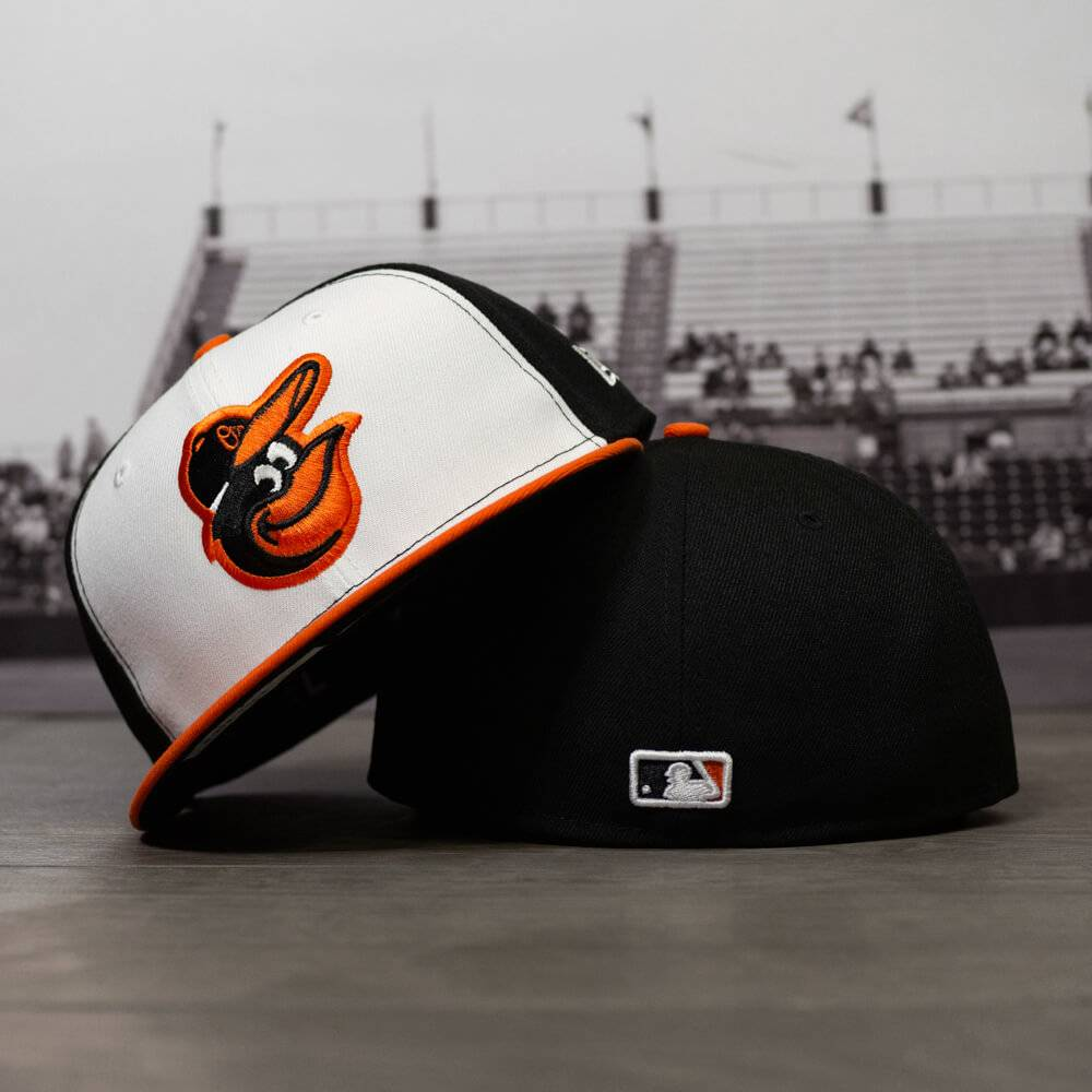 59FIFTY MLB AUTHENTIC BALTIMORE ORIOLES TEAM FITTED CAP