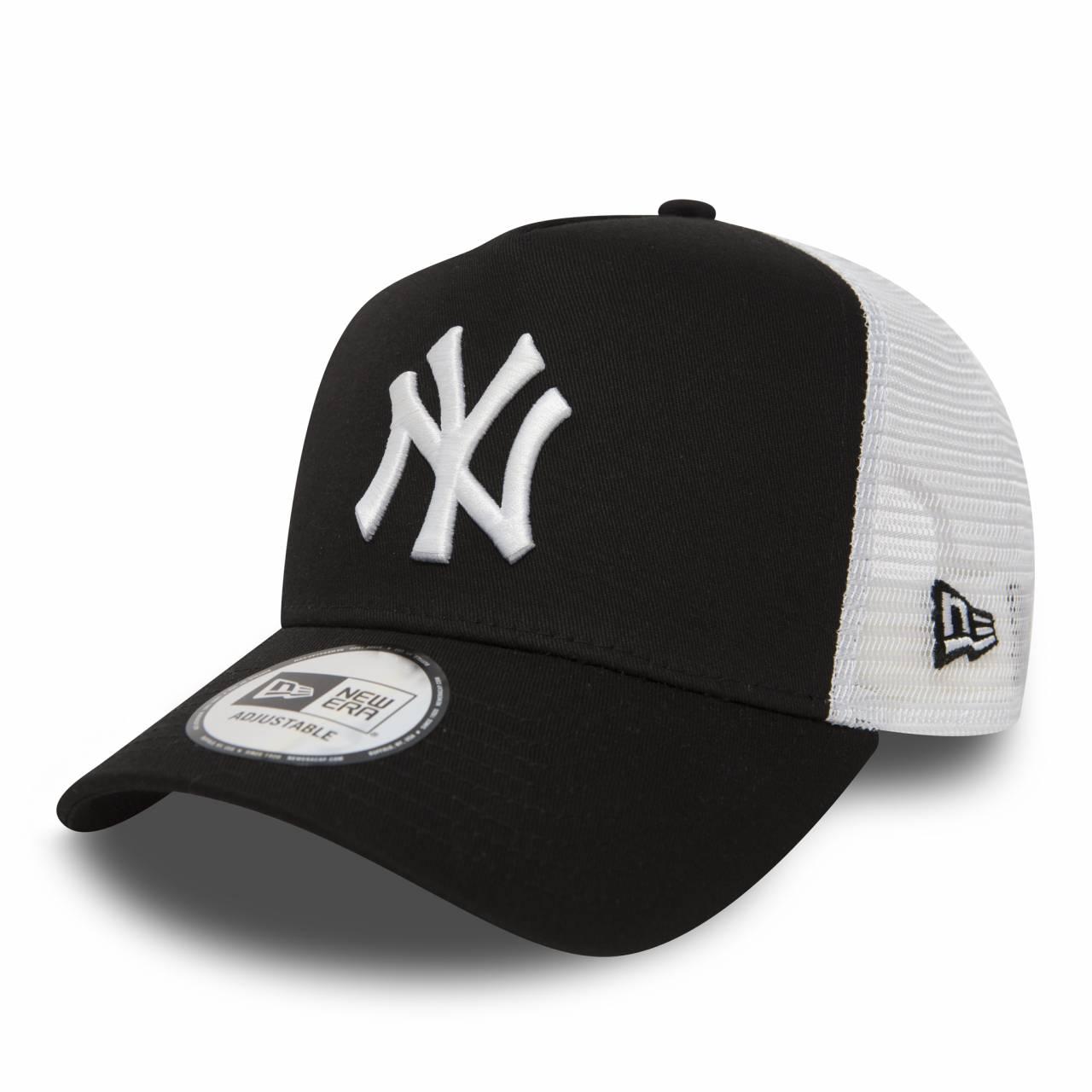 11588491 MLB TRUCKER NEW YORK YANKEES BLACK/WHITE CAP