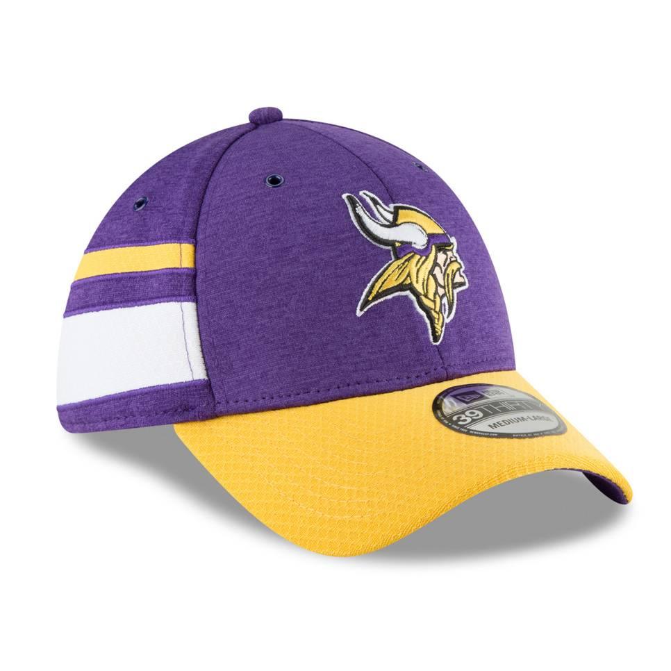 11763370 39THIRTY NFL MINNESOTA VIKINGS SIDELINE FITTED CAP