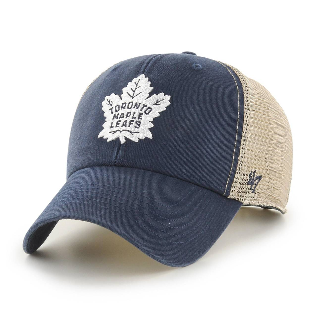 NHL TORONTO MAPLE LEAFS FLAGSHIP WASH '47 MVP NAVY CAP
