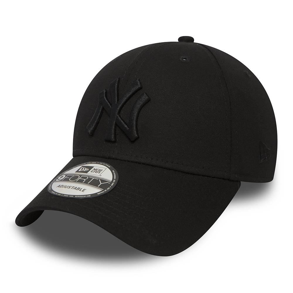 80468932 9FORTY NEW YORK YANKEES BLACK/BLACK CAP