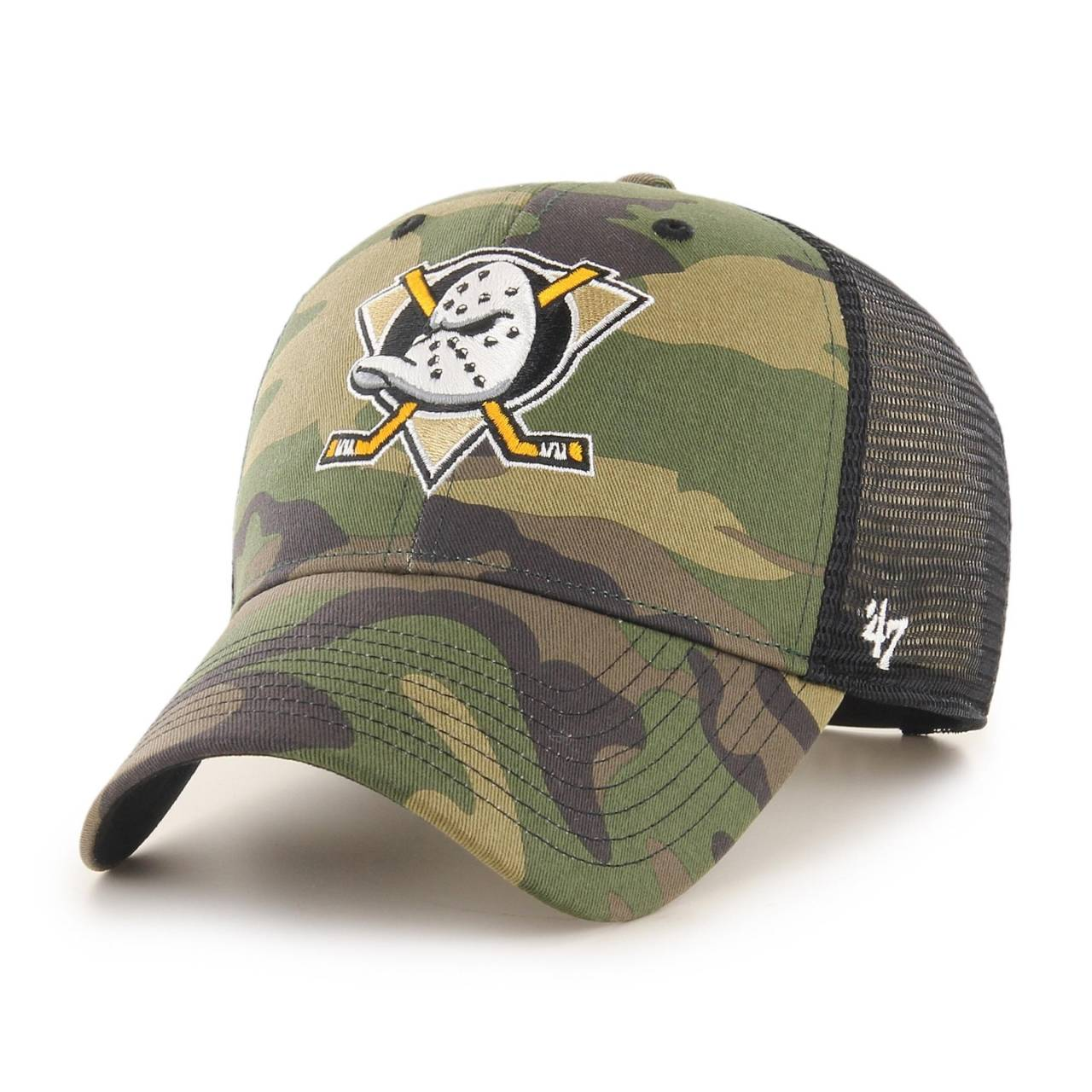 NHL ANAHEIM DUCKS CAMO BRANSON '47 MVP CAP