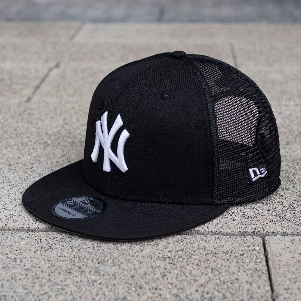 LIMITED 9FIFTY MLB NEW YORK YANKEES SCHWARZ MESH SNAPBACK/GRAU UNTERSCHIRM