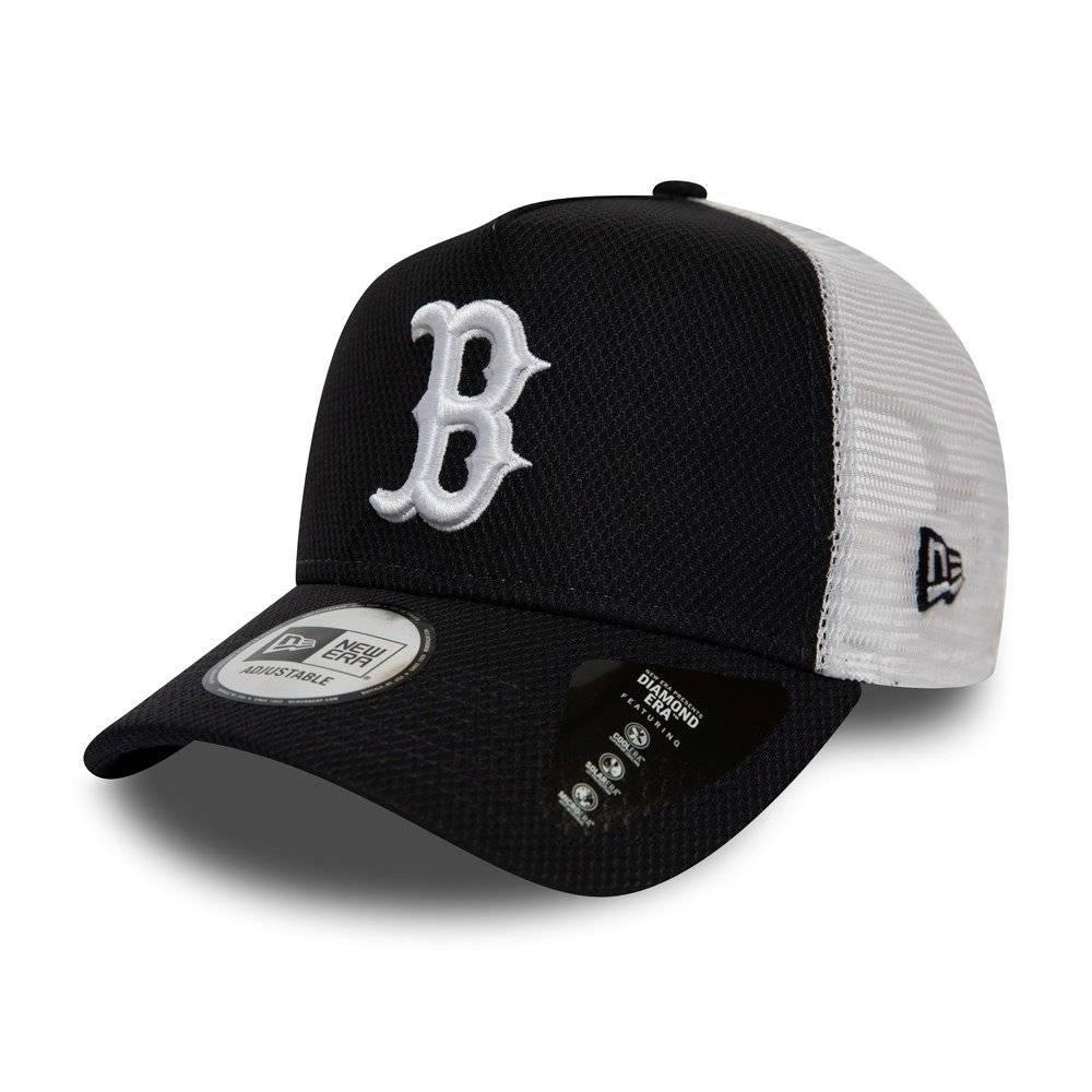 12040559 MLB TRUCKER BOSTON RED SOX DIAMOND ERA NAVY CAP