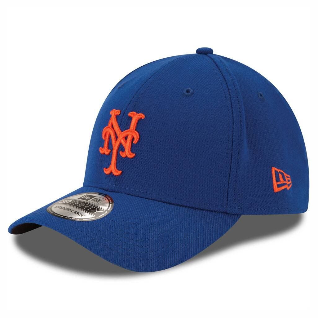 10975805 39THIRTY MLB NEW YORK METS STRETCH FIT BLUE/ORANGE CAP