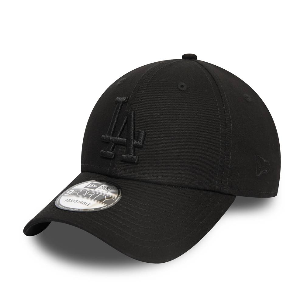 12052000 9FORTY MLB LOS ANGELES DODGERS BLACK/BLACK CAP