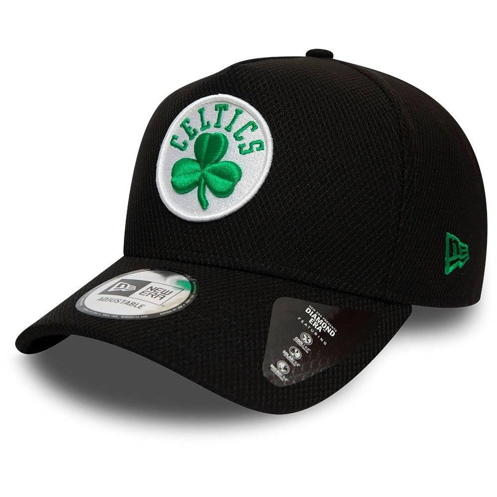 12134811 9FORTY NBA DIAMOND ERA A-FRAME BOSTON CELTICS BLACK CAP