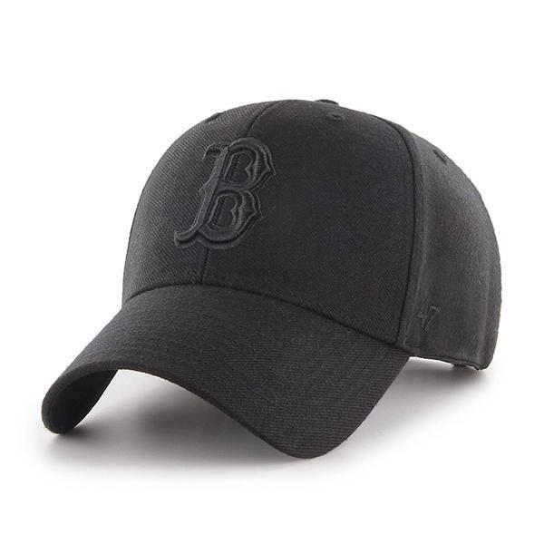 MLB BOSTON RED SOX '47 MVP BLACK/BLACK SNAPBACK