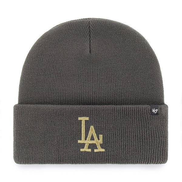 MLB LOS ANGELES DODGERS HAYMAKER ´47 CUFF KNIT CHARCOAL