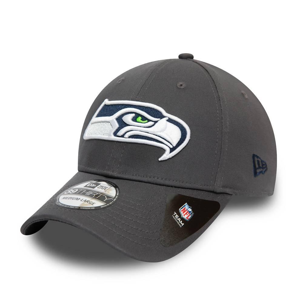 39THIRTY NFL TEAM SEATTLE SEAHAWKS GRAPHITE CAP