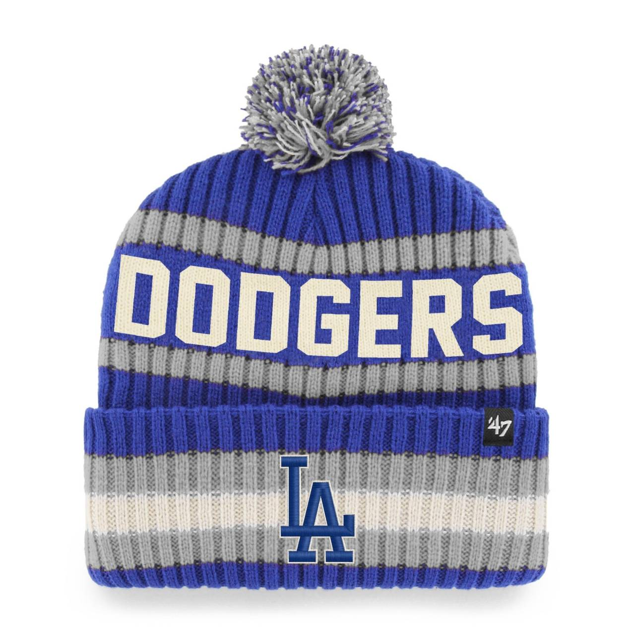 MLB LOS ANGELES DODGERS BERING ´47 CUFF KNIT BLUE/GREY