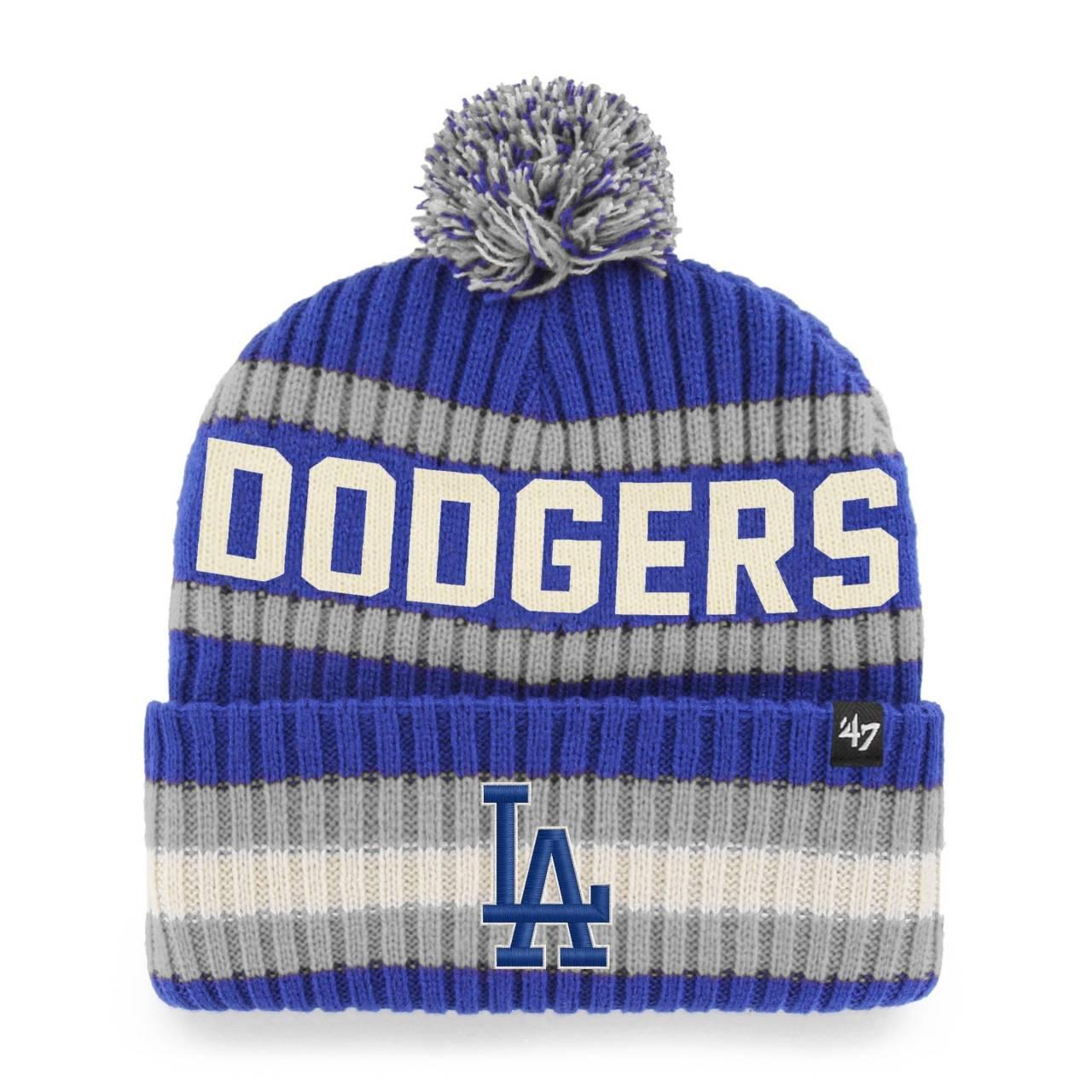MLB LOS ANGELES DODGERS BERING ´47 BOMMELMÜTZE BLAU/GRAU